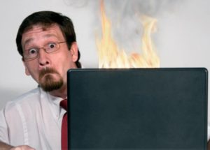 IT Problems don't let your business go up in flames